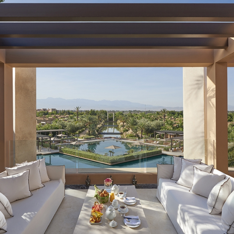 © UPGRADE TO HEAVEN - A Brand-New Global Book Concept: Lifestyle Coffee Table Book + Upgrades by Bauernfeind + Löwe, published by teNeues, www.teneues.com, Mandarin Oriental Marrakech, Morocco, Photo © Mandarin Oriental Hotel Group