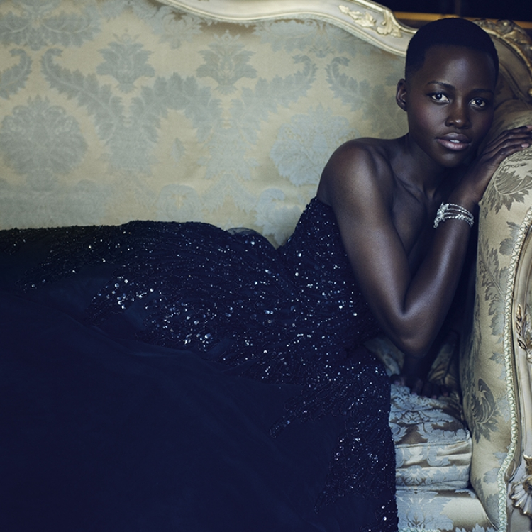 © Profiles by Marc Hom, to be published by teNeues in September 2016, www.teneues.com, Lupita Nyong'o, Photo © 2016 Marc Hom. All rights reserved.