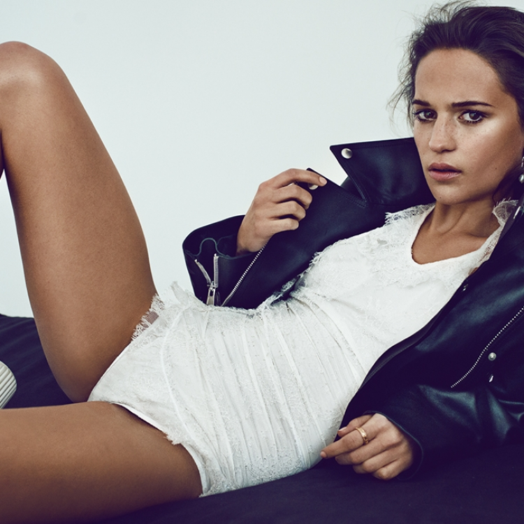 © Profiles by Marc Hom, to be published by teNeues in September 2016, www.teneues.com, Alicia Vikander, Photo © 2016 Marc Hom. All rights reserved.