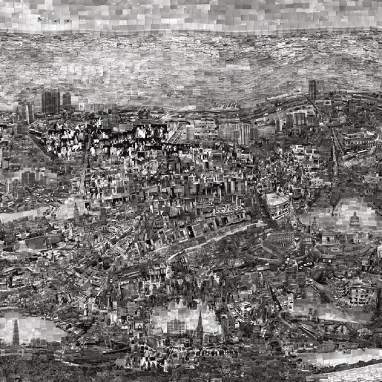 Sohei Nishino nominated for his series Diorama Map, 2016 © Sohei Nishino, Michael Hoppen Gallery, London and Prix Pictet 2017