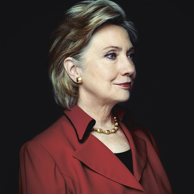 © Money People Politics by Marco Grob, to be published by teNeues in September 2016, www.teneues.com, HILLARY RODHAM CLINTON, Politician, former Secretary of State and First Lady, candidate for President of the United States in 2016, State Department, Washington, D.C., 2011, Photo © 2016 Marco Grob. All rights reserved.