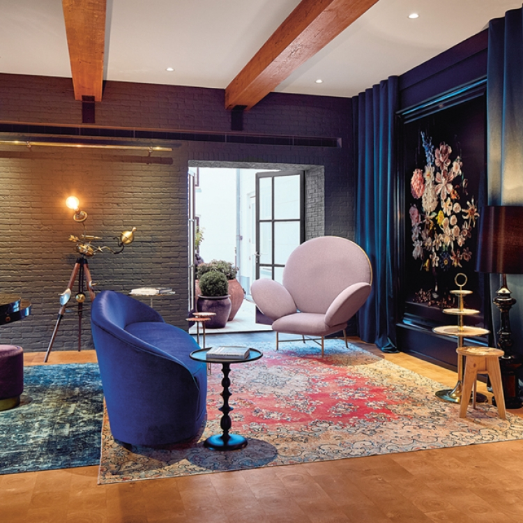 Photo © Sander Baks/Courtesy of Hotel Pulitzer Amsterdam