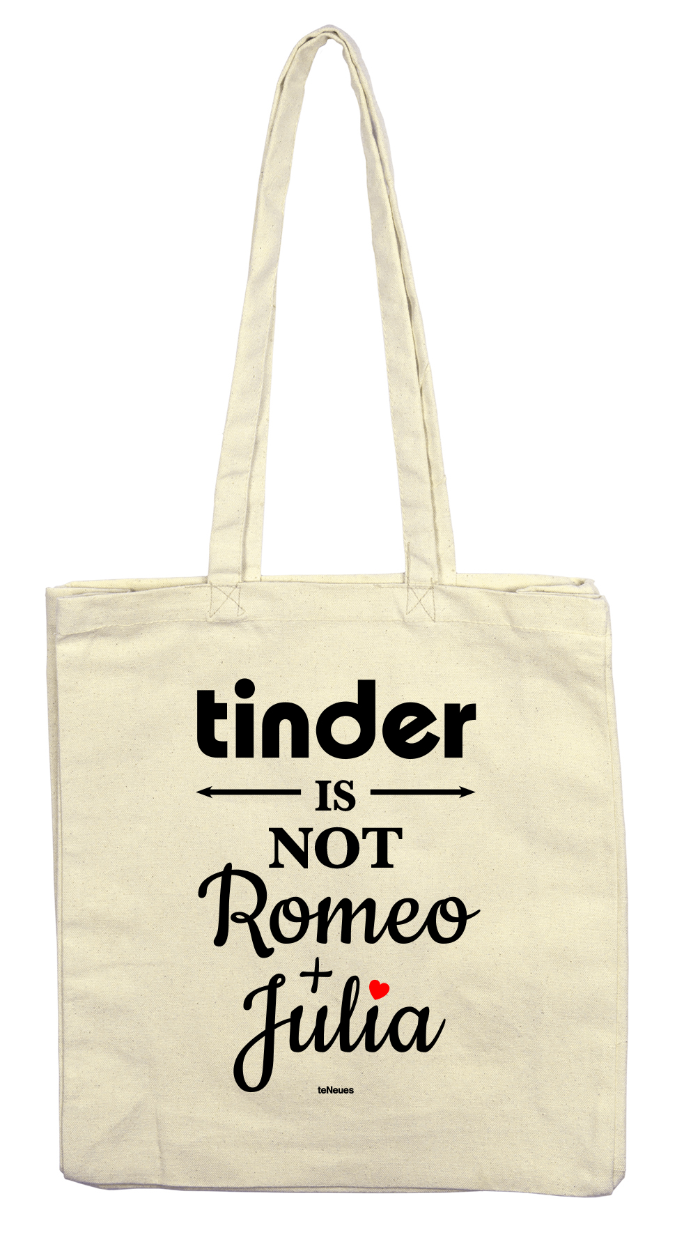 Stofftasche tinder is NOT Romeo +Julia