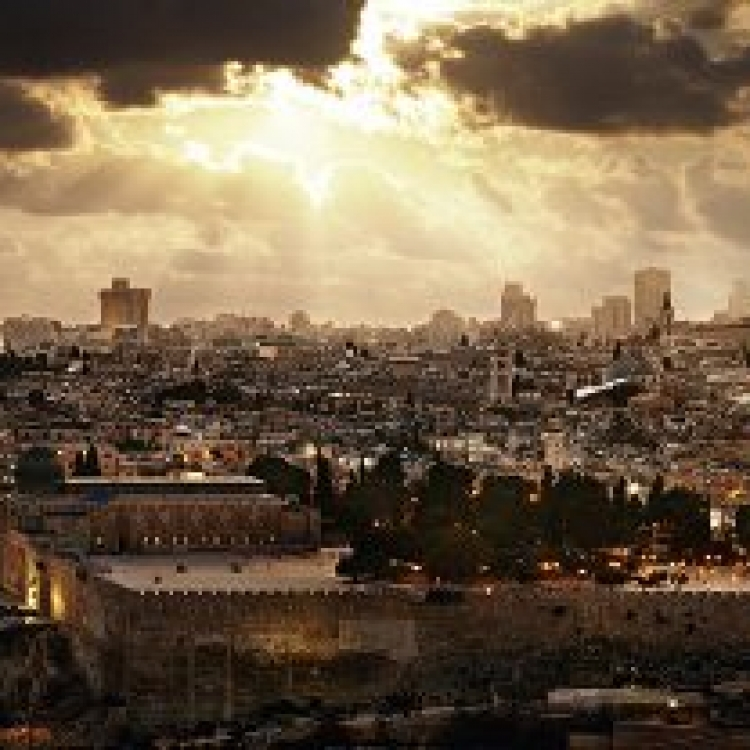 © Dreamscapes by David Drebin, published by teNeues, www.teneues.com. JERUSALEM, 2011, Photo © 2016 David Drebin. All rights reserved. www.daviddrebin.com