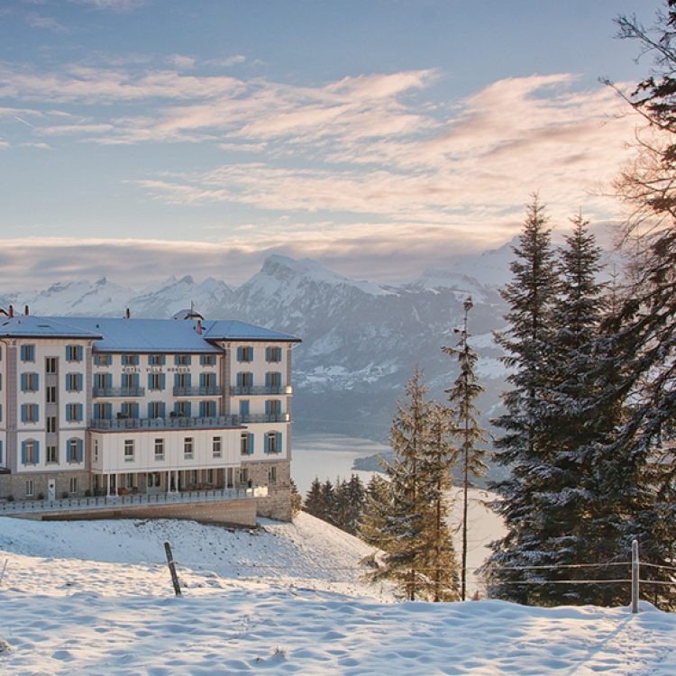 © EIGHTY FOUR ROOMS - A UNIQUE COLLECTION OF THE MOST STYLISH & INDIVIDUAL BOUTIQUE HOTELS - ALPINE EDITION, to be published by teNeues in November 2016, € 49,90, www.teneues.com. Villa Honegg, Lake Lucerne, Switzerland, Photo © 2016 Sebastian Schöllgen. EIGHTY FOUR ROOMS GbR. www.eightyfourrooms.com
