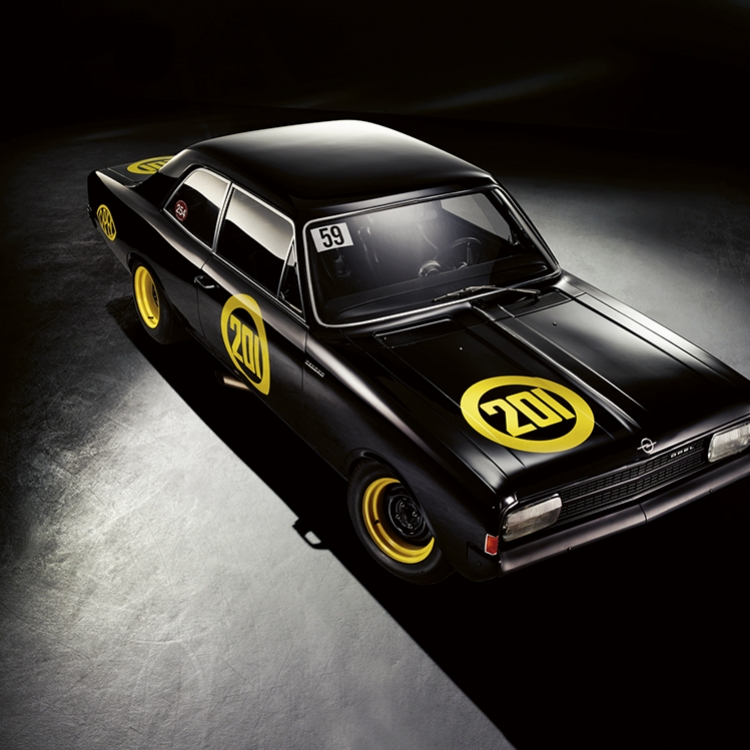 © Black Beauties - Iconic Cars Photographed by René Staud, to be published by teNeues in September 2016, www.teneues.com. Opel Rekord C
