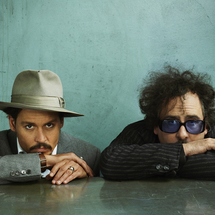 © Profiles by Marc Hom, to be published by teNeues in September 2016, www.teneues.com, Johnny Depp and Tim Burton, Photo © 2016 Marc Hom. All rights reserved.