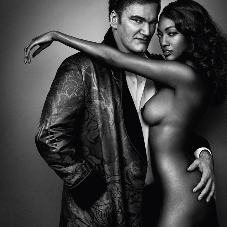 © Profiles by Marc Hom, to be published by teNeues in September 2016, www.teneues.com, Quentin Tarantino and Nichole Galicia, Photo © 2016 Marc Hom. All rights reserved.