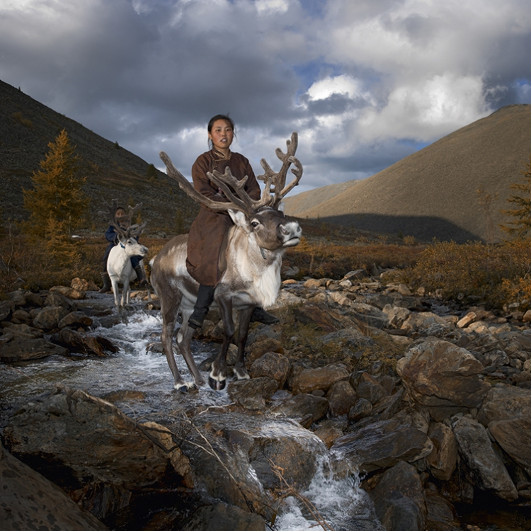Deermaid II, West Taiga, Hovsgol Province, Mongolia, 2013, Photo © 2016 Hamid Sardar. All rights reserved. www.hamidsardarphoto.com