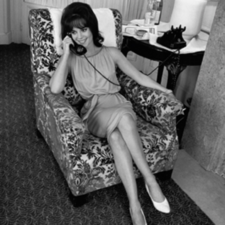Natalie Wood came to the Cannes Film Festival in 1962 with her boyfriend Warren Beatty so as to keep him company, Cannes 1962 Photo © edwardquinn.com