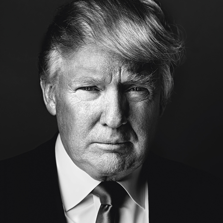 © Money People Politics by Marco Grob, to be published by teNeues in September 2016, www.teneues.com, DONALD TRUMP, Businessman and TV personality, candidate for President of the United States in 2016, At his office, New York City, 2013, Photo © 2016 Marco Grob. All rights reserved.