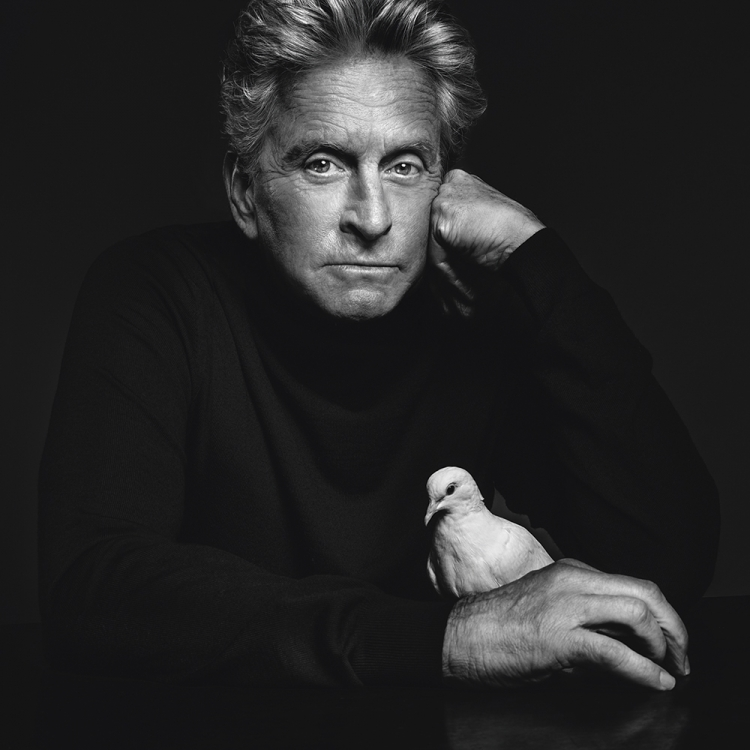 © Money People Politics by Marco Grob, to be published by teNeues in September 2016, www.teneues.com, MICHAEL DOUGLAS, Actor, Studio, New York City, 2013, Photo © 2016 Marco Grob. All rights reserved.