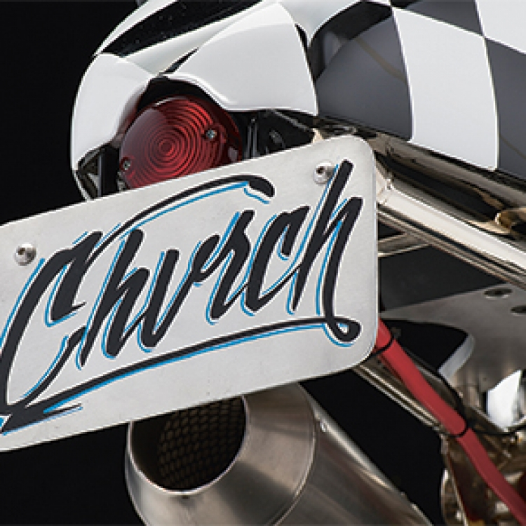 Church of Choppers, CoC R nine T, Photo © Michael Lichter