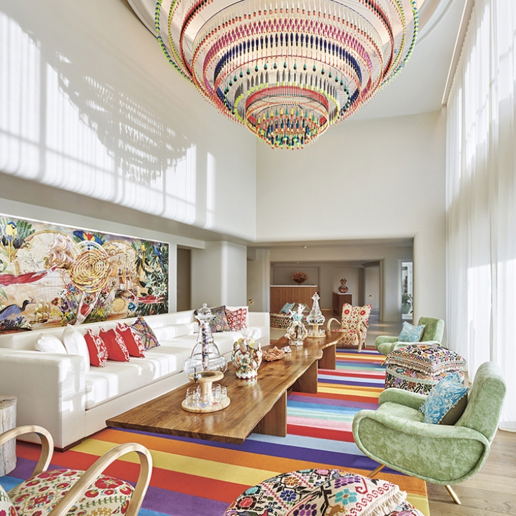 © Living in Style - The New Art Deco by Claire Bingham, to be published by teNeues in March 2018, www.teneues.com, Faena Hotel Miami Beach, Photo © Nikolas Koenig