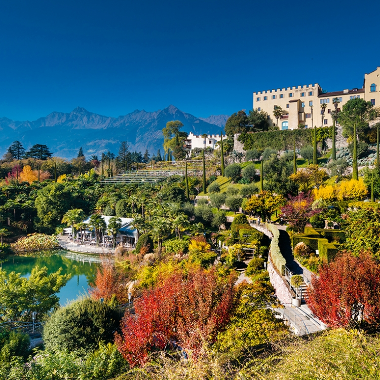 © Garden Design Review - Best Designed Gardens and Parks on the Planet, to be published by teNeues in October 2018, € 80, www.teneues.com. The Gardens of Trauttmansdorff Castle, Merano, Italy, Photo © Die Gärten von Schloss Trauttmansdorff, Othmar Seehauser
