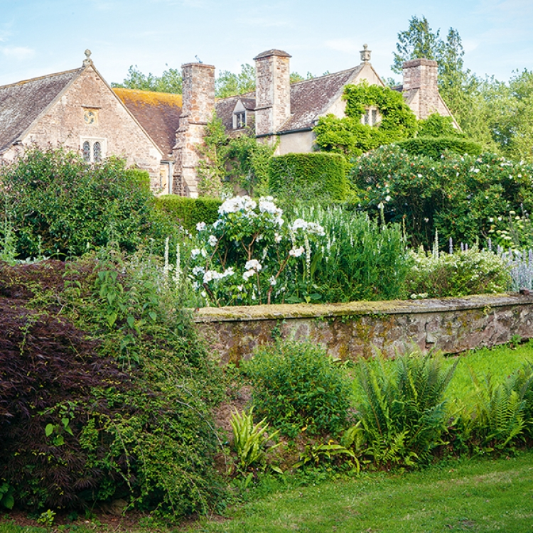 © Garden Design Review - Best Designed Gardens and Parks on the Planet, to be published by teNeues in October 2018, € 80, www.teneues.com. Cothay Manor, Nr Wellington, England, Photo © Sabina Rübner
