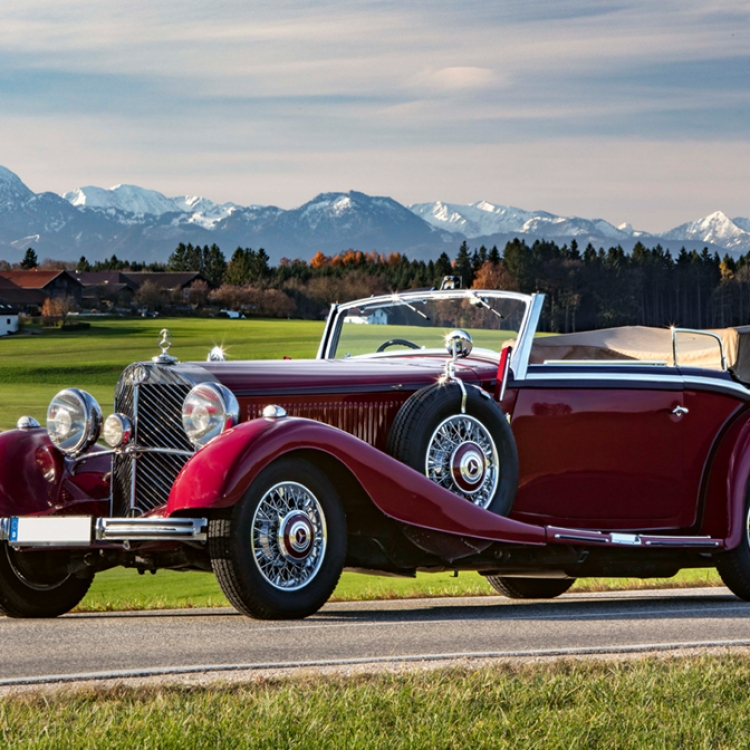 MERCEDES-BENZ, 500K Convertible B, 1935, Photo © Michael Naumann