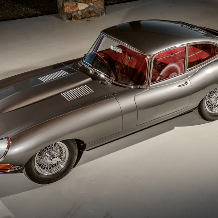 JAGUAR, E-Type 3.8 Coupé, 1962, Photo © Uwe Fischer
