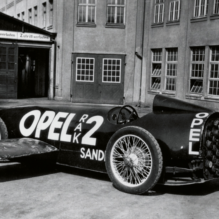 OPEL, RAK 2, 1928, Photo © Opel Automobile GmbH