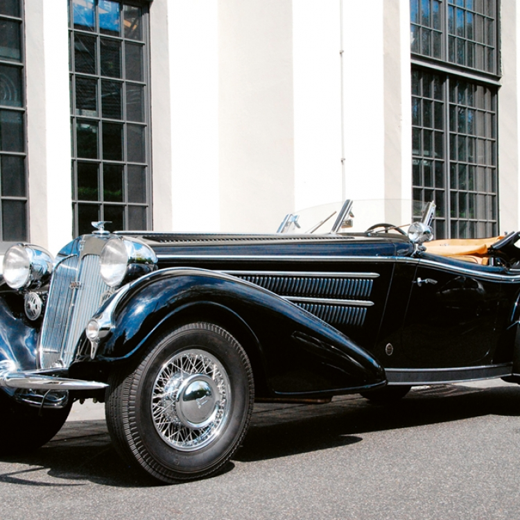 HORCH, 855 Special Roadster Replica, Photo © Willemijn van der Eijk