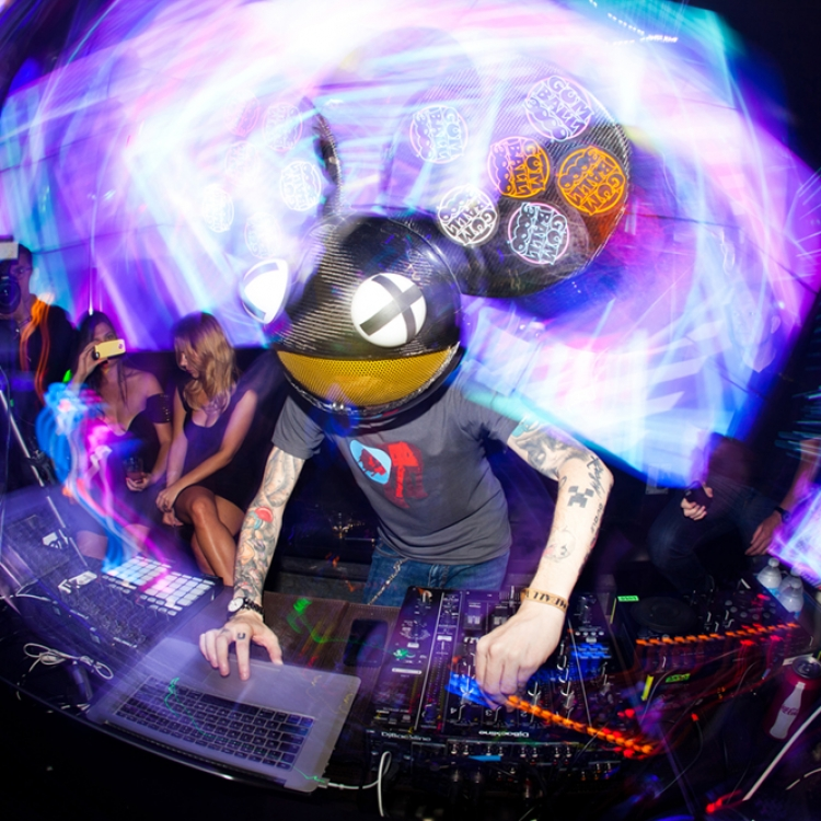 deadmau5 plays Miami, Photo © Richard P. Walton