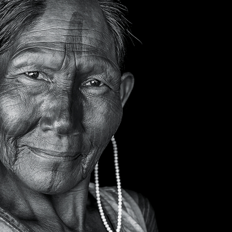Kayapó Elder, Kubenkrajke, Brazil, 2010, Photo © 2018 Cristina Mittermeier. All rights reserved. www.sealegacy.org