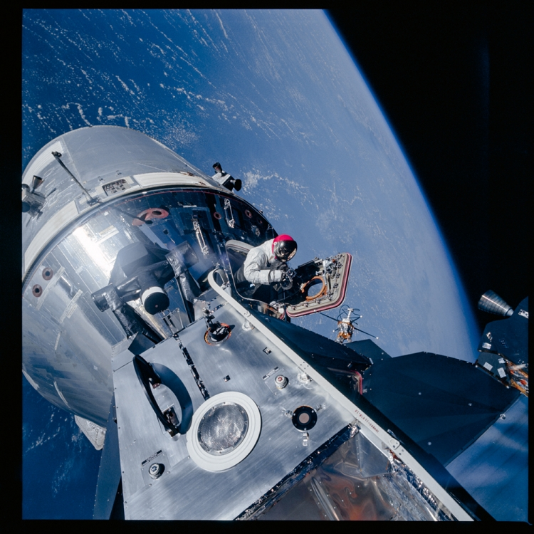 Photo © courtesy of The National Aeronautics and Space Administration (NASA) photographic archives