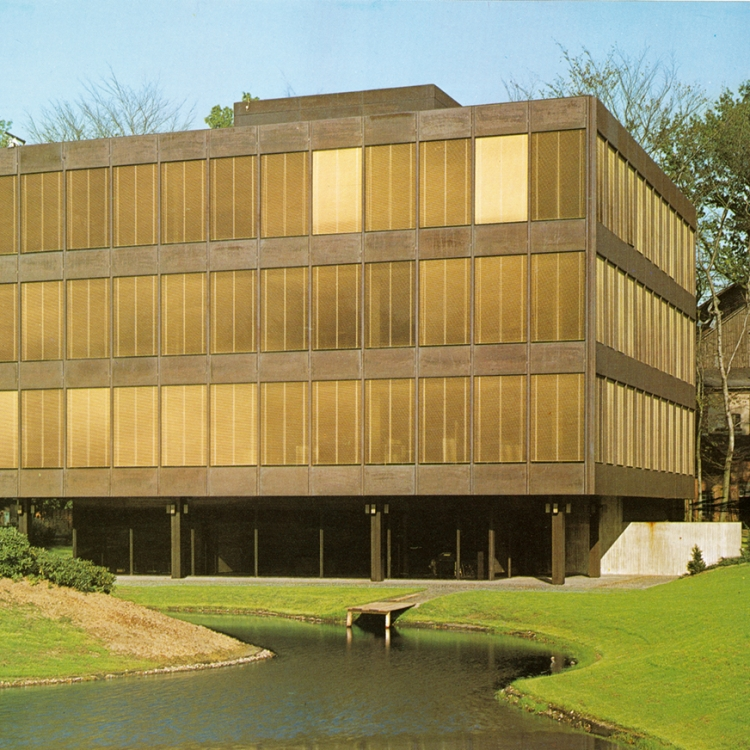 GOLDBECK Bürogebäude in Bielefeld, 1974, Photo © GOLDBECK GmbH