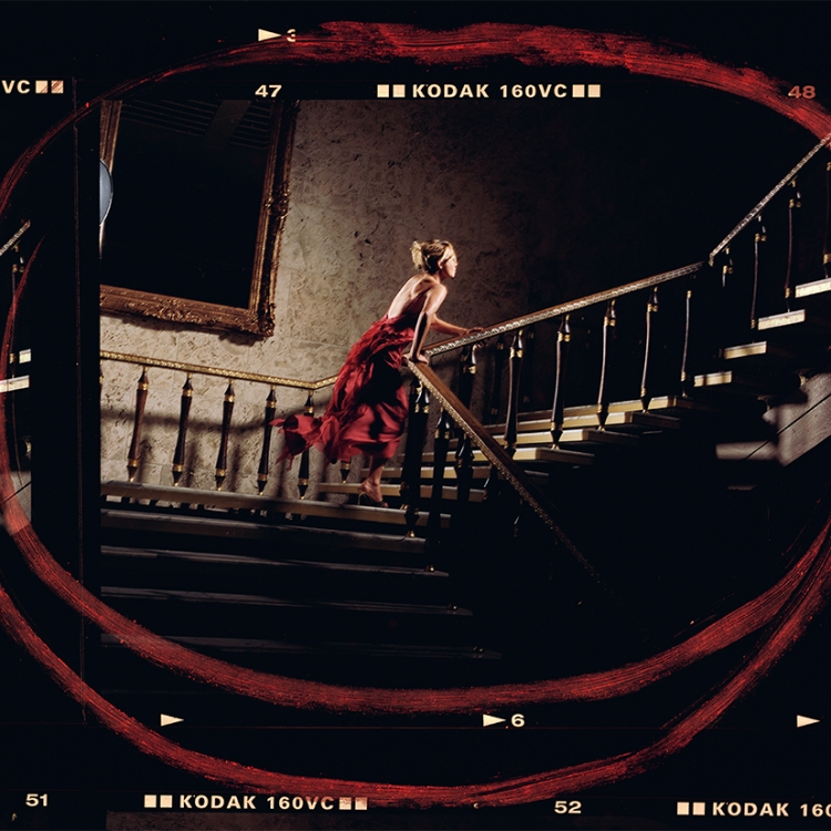 Girl in the Red Dress, 2004 Photo © 2019 David Drebin. All rights reserved.