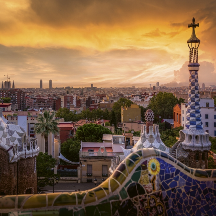 Parc Güell Photo © 2020 Serge Ramelli. All rights reserved.