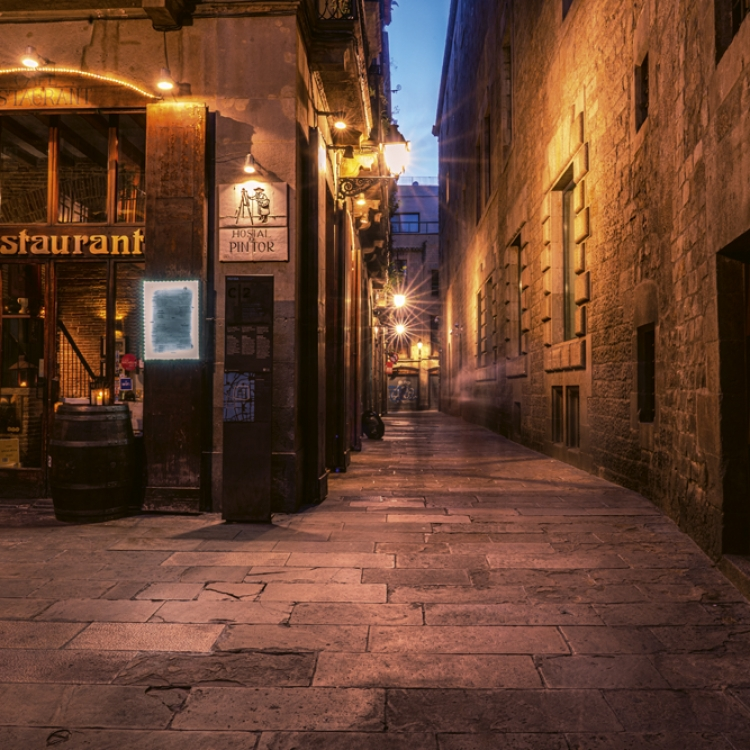 The Barri Gòtic Photo © 2020 Serge Ramelli. All rights reserved.