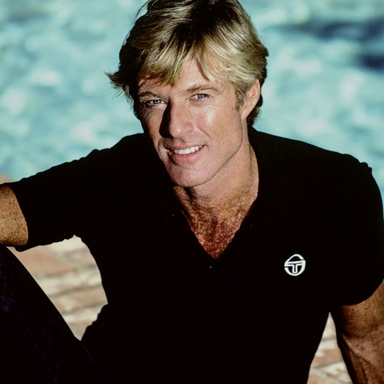 Robert Redford, 1986, Pacific Palisades, CA, Photo © Greg Gorman Photography, 2020. www.gormanphotography.com