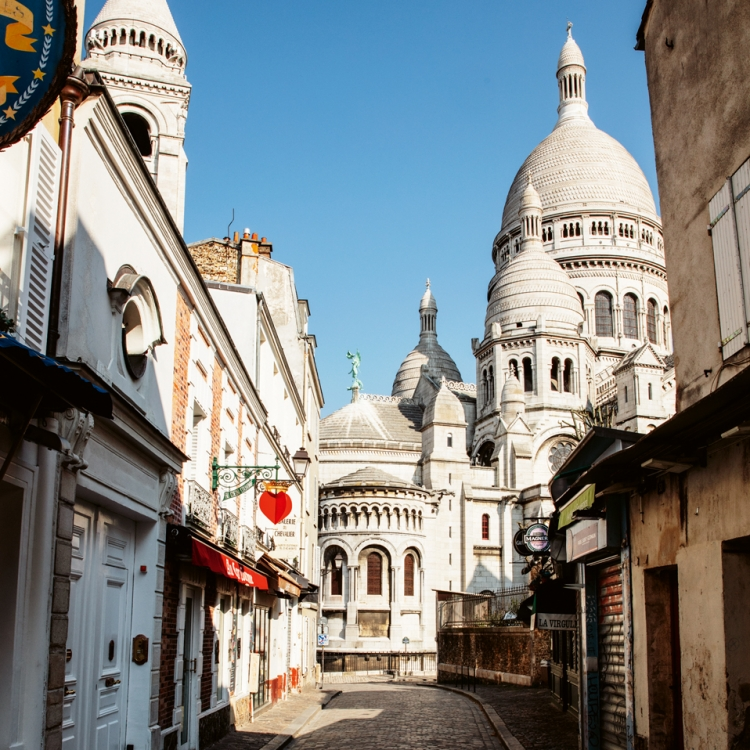 Sacré-Coeur de Montmartre, Paris Photo © Stéphane Gizard