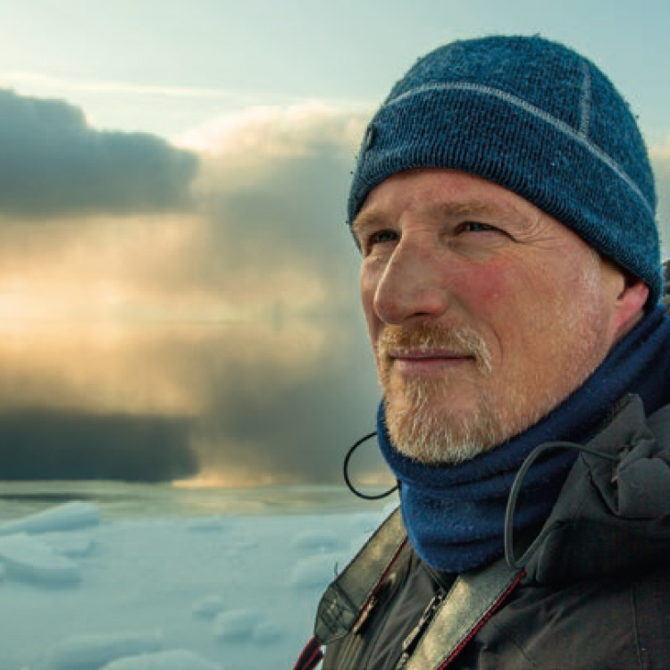 Paul Nicklen, Photo: Cristina Mittermeier